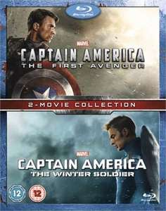 Captain America The First Avenger/The Winter Soldier -  double bluray pack - £12.49 - xtravision