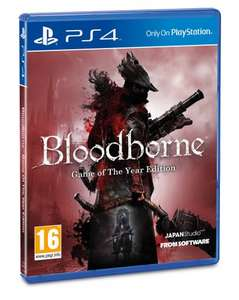 Bloodborne Game of the Year Edition (PS4) Rakuten Basecom £23.67 With MAYDAY CODE 5x points