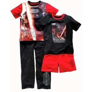 Star Wars: The Force Awakens 2 Pack Pyjamas - 3-10 years was £14.99 now £7.49 free c&c @ Argos
