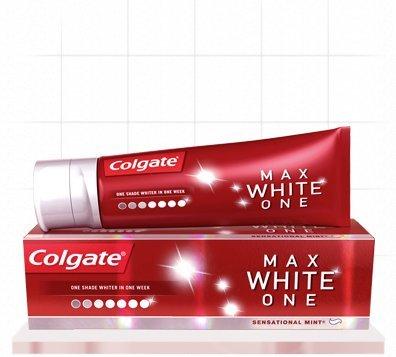 Free colgate Max White Toothpaste