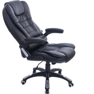 Executive Extra Padded Reclining Office £79.98 delivered @ Amazon (Fulfilled by Daal's Home)