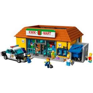 LEGO Simpsons The Kwik-E-Mart (71016) TOYS R US (£139.99 Click and Collect)