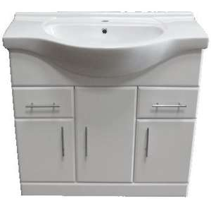 Bathroom Sink Cabinet Vanity Unit  £85.95 and free delivery betterbathrooms_outlet / Ebay