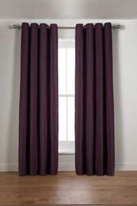 Heart of House Camden Lined Curtains - 168x137cm (various colours and sizes available) £5.99 delivered Argos ebay
