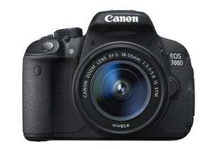 Canon EOS 700D Digital SLR Camera with 18-55 IS STM Lens £335.75 with code @ Rakuten / pixelelectronics