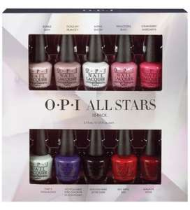 OPI ALL STARS MINI 10 PACK £13.50 Delivered @ opiuk.com
