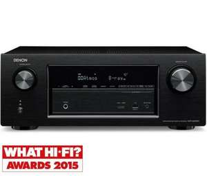 Denon avr-x2200w - Black Atmos AV Receiver £329 @ Richer Sounds
