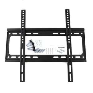 "SLIM TV WALL BRACKET MOUNT FOR FLAT SCREEN TV'S  26"" to 55"" WOW £4.49 INC POST @ duzky_uk / Ebay"