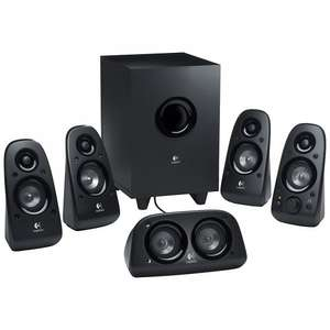 Logitech Z506 5.1 Surround Sound Speaker System £41.99 @ John Lewis