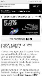 student discount at bullring most 20% OFF till 10 @ Bullring Birmingham