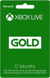 Xbox Gold 3 months £8.99 [Xbox Live Online Code] delivered Fulfilled by Amazon