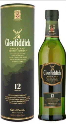 Glenfiddich 12 year Single Malt 50cl £7.50 @ Asda