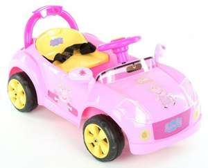 Peppa Pig 6V Electric Ride On Car £35 (rrp £119) del @ Halfords Ebay Outlet