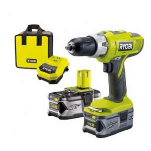 Ryobi Cordless 18V Li-Ion Hammer Drill 2 4.0Ah! Batteries £130 + 6% Quidco and Free Delivery @ B&Q
