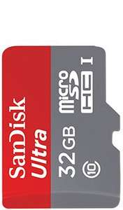Metro Vodafone Offer - Sandisk 32GB with Adapter - Online and Instore for £7.50 TODAY ONLY