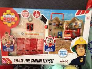 deluxe fire station playset £8.00 @ Sainsbury's