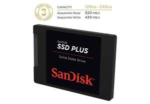 SanDisk SSD PLUS 120 GB Sata III 2.5-inch Internal SSD - Back down to £30 @ Amazon