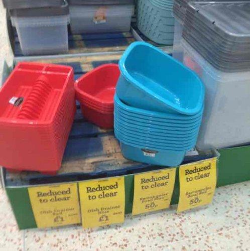 Sink bowls 50p @ Morrisons