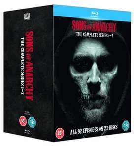 Sons Of Anarchy: Complete Seasons 1-7 Blu-ray Box Set £29.75 using code MAYDAY at Rakuten/Fox Direct