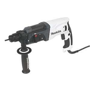Makita HR2470WX/2 3kg SDS Plus Hammer Drill 240V £119.99 Screwfix