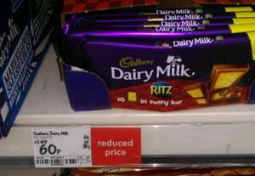Dairy Milk Ritz Crackers 60p @ Asda