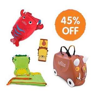 45% off trunki packages  £44.99 trunki.co.uk