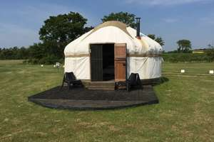 "3 or 4 Night Suffolk Seaside Glamping Break staying in a ""Glamtainer"" for up to 6 People Just £119 via Wowcher (so potentially £4.96pppn if 6 go on 4 night break)"