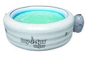 Lay-Z Spa VEGAS Hot Tub £288 @ Amazon