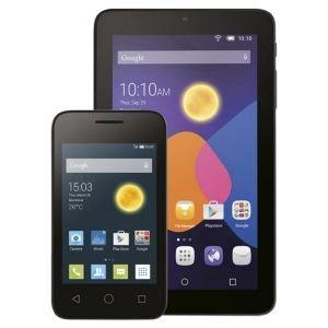 "Alcatel 4"" Pixi with £10 Lebara sim credit & Pixi 7"" tablet bundle £49.99 @ TescoDirect"