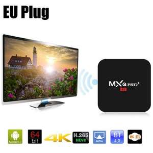 MXQ Pro Plus Amlogic S905 Quad Core 2GB RAM 16GB ROM 2.4G 5.8G Dual-band WiFi Bluetooth 4.0 HDMI 2.0 4K