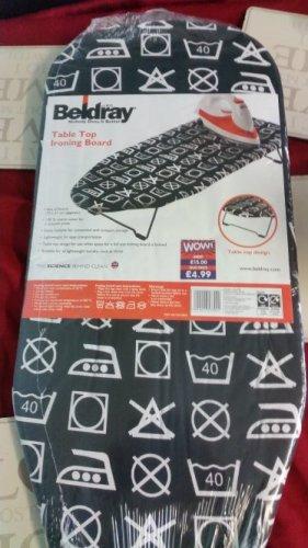 beldray table top ironing board at b&m £1