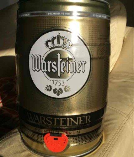 warsteiner beer keg £10 @ Home Bargains
