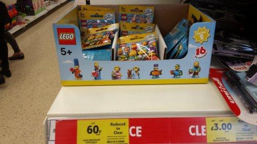 LEGO Simpsons series 2 minifigures  60p @ Tesco