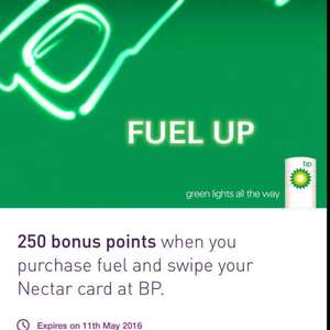 250 Nectar Points Free When You Fill Up At BP