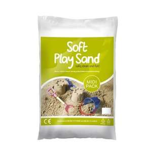 Play sand at Homebase - 10kg bags for £1.96