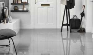 WICKES INFINITY GREY POLISHED PORCELAIN FLOOR & WALL TILES 600 X 600MM PACK 3 £14.57 + 10% EXTRA OFF + QUIDCO