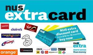 Become a student and get an NUS card for £16 all-in! (Excel IT course from GoGroupie £4)