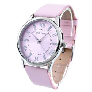 Dictac Cristal Diamond Genuine leather girls watch from Amazon daily deal (£10.49 lightning deal)