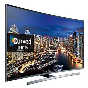 Samsung UE48JU7500, Curved LED, HDR, 4K Ultra HD, 3D, Freesat HD with 5 year guarantee - £845 @ John Lewis