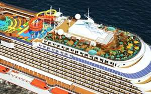 10 nights med cruise on carnival vista(new ship)£699pp @ Cruise1st