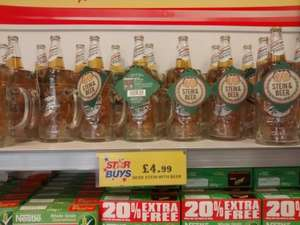 2 pint stein and large san miguel £4.99 @ home bargains instore