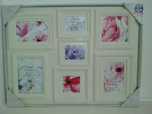 7pc Large Photo Frame £0.10 @ B&M