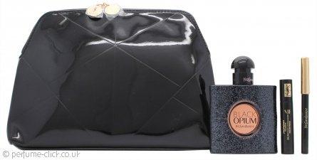 ves Saint Laurent Black Opium Gift Set 50ml EDP + 7.5ml EDP Travel Spray