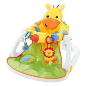 Fisher Price Giraffe Sit-Me-Up Floor Seat £30 (was £50) at Tesco