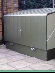 Subsidised bike bunkers for Ealing residents £120 inc. VAT and Installation.