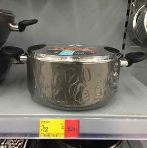 32cm large non stick stockpot was £16 now only £12 Asda in store & online