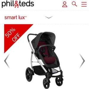 Phil & Teds smart lux buggy £174.50 half price
