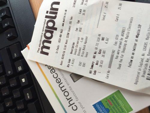 Google Chromecast (v2) £25 at Maplin - price matching Tesco