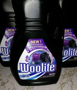 Woolite Darks 1l (16washes) only £1.69 at Home Bargains