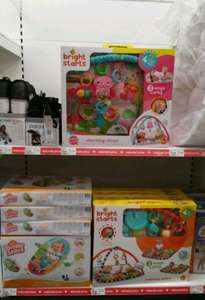 Bright Start bouncer and pay gyms all £9.60 each. @ Asda - Reddish Stockport